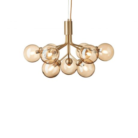 Люстра Nuura Apiales 9 Brushed Brass